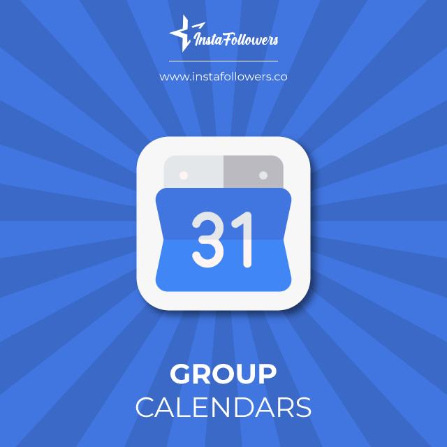 group calendars