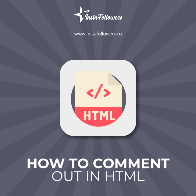 How to comment out in HTML
