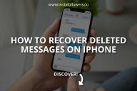 How to Recover Deleted Messages on iPhone