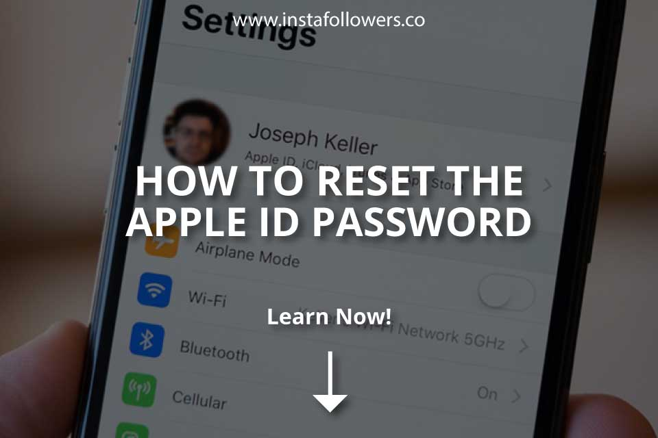 How to Reset the Apple ID Password