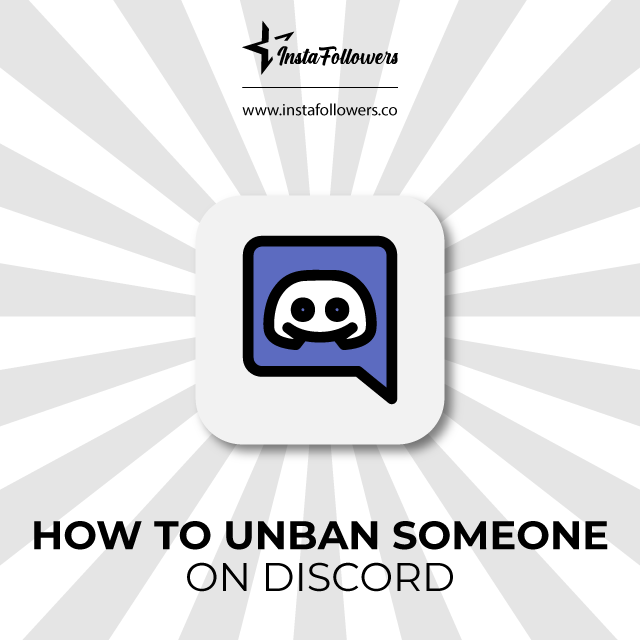 Unban someone on discord