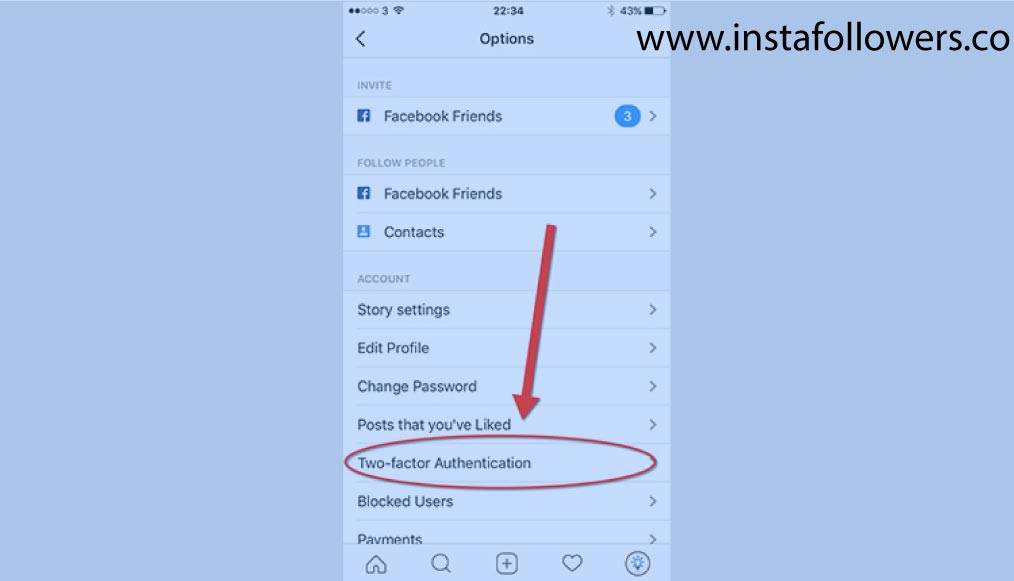 How to use two-factor authentication on Instagram
