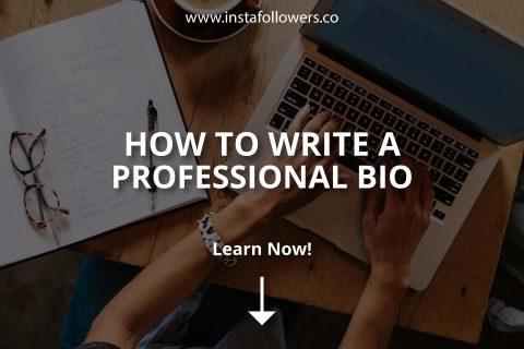 How to Write a Professional Bio