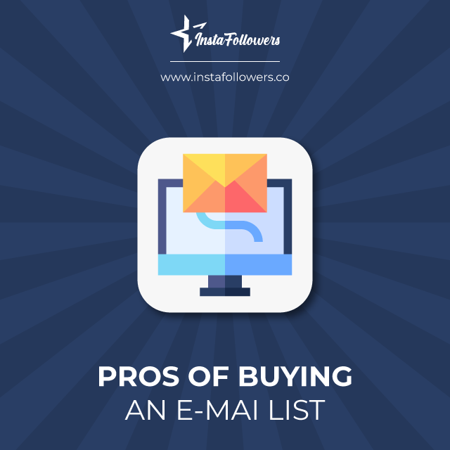 Pros in Buying an Email List