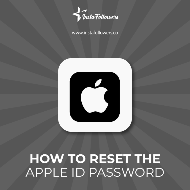 Learn how to reset your Apple ID password