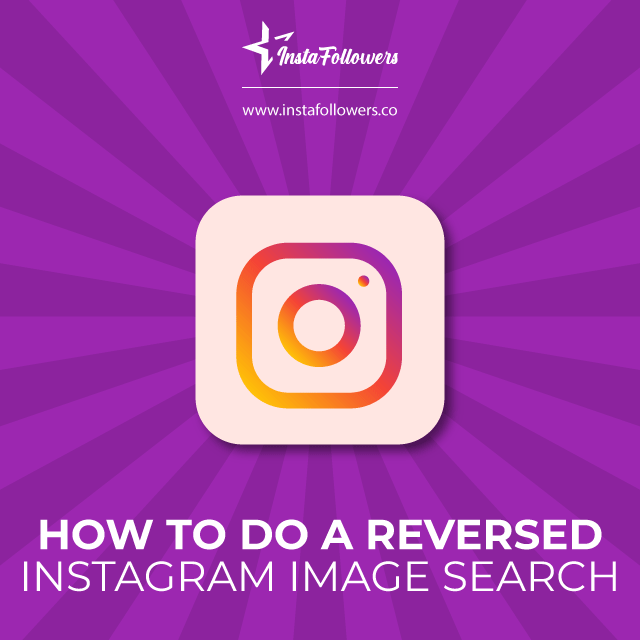 Reverse Instagram image search