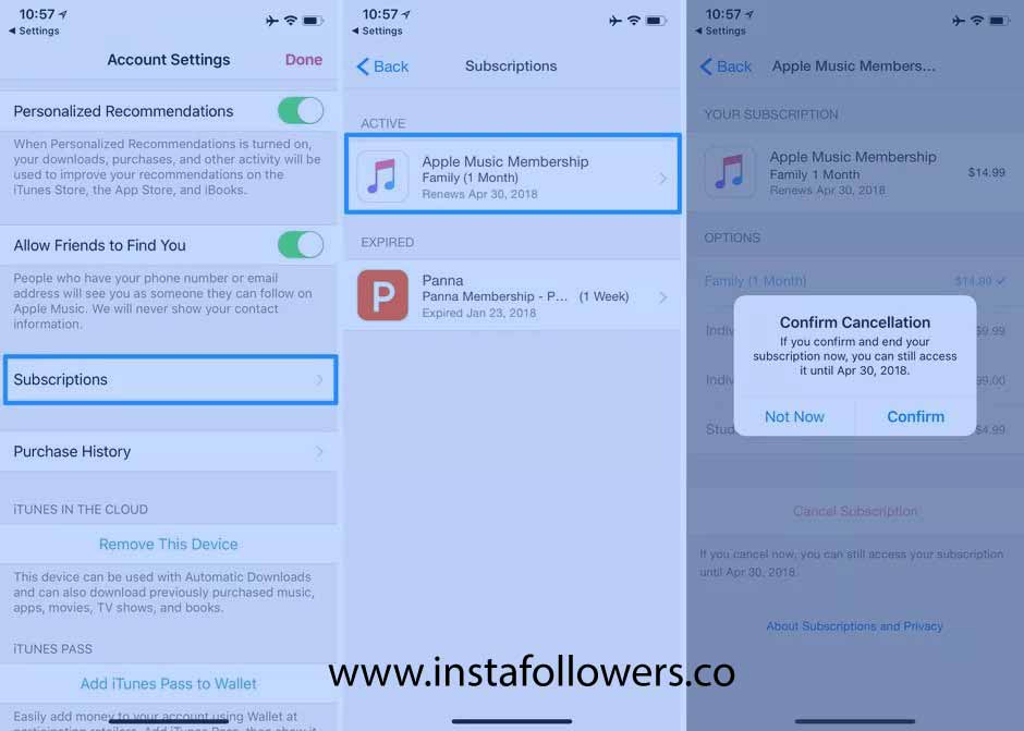 Steps to Cancel Apple Music