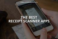 The Best Receipt Scanner Apps