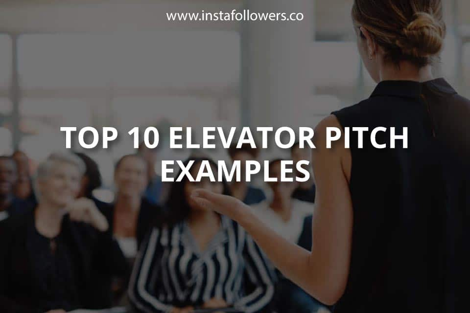 Top 10 Elevator Pitch Tips