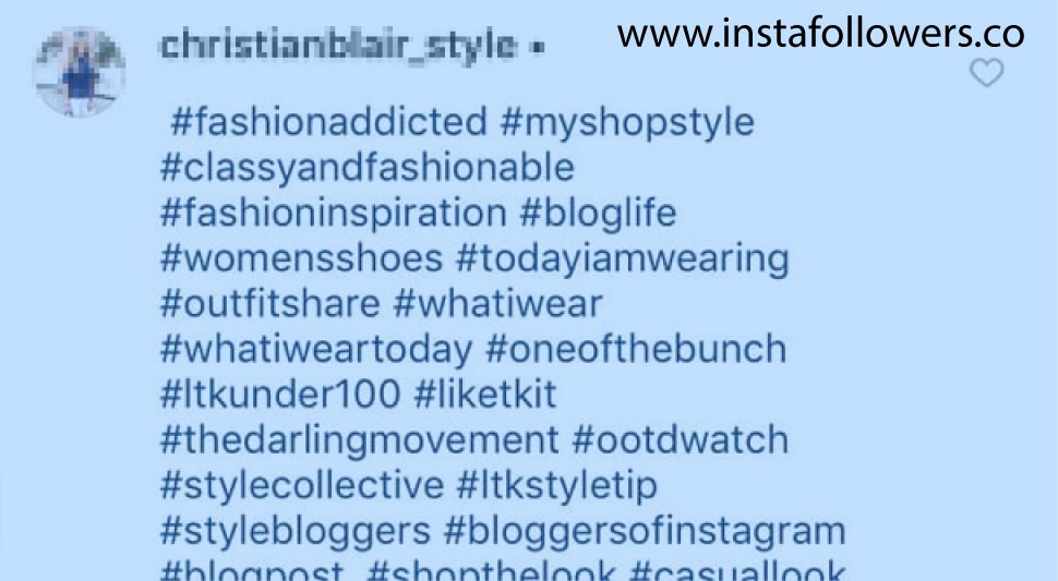 Use one or more hashtags