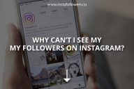 Why Can't I See My Followers on Instagram?
