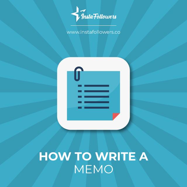 Write a memo
