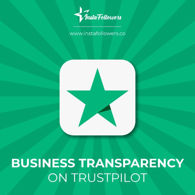 business transparency on trustpilot