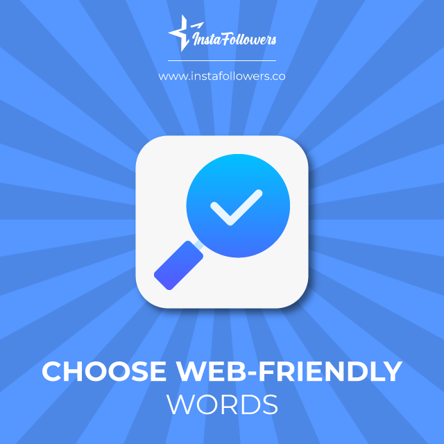 web friendly words