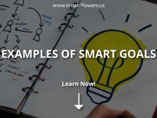 Examples of Smart Goals