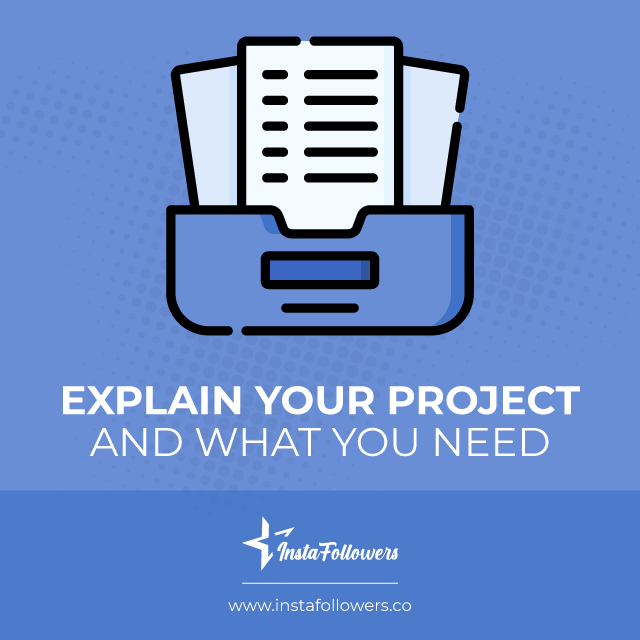explain your project and what you need