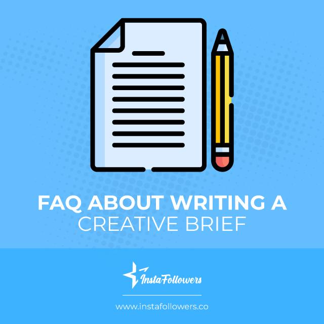 faq about writing a creative brief