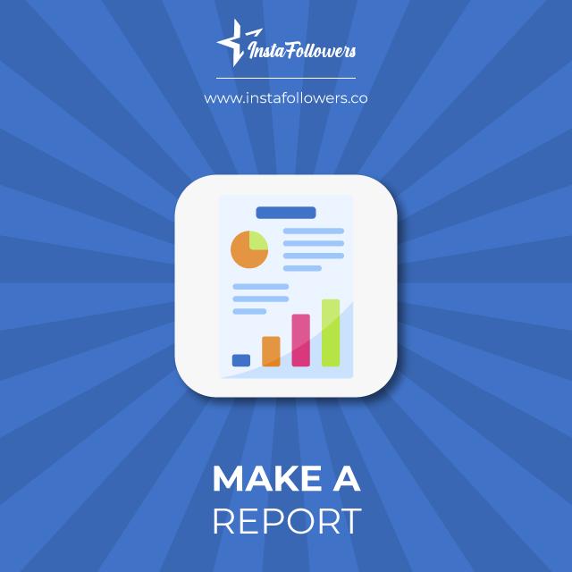 make a report