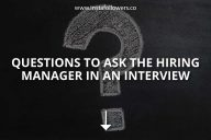 Questions to Ask the Hiring Manager in an Interview