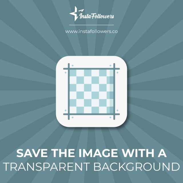save images with transparent backgrounds