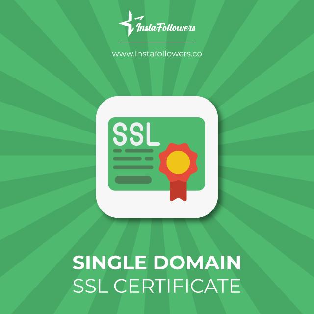 single domain certificate