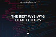 The Best WYSIWYG HTML Editors