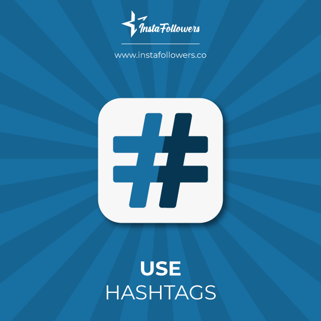 use hashtags