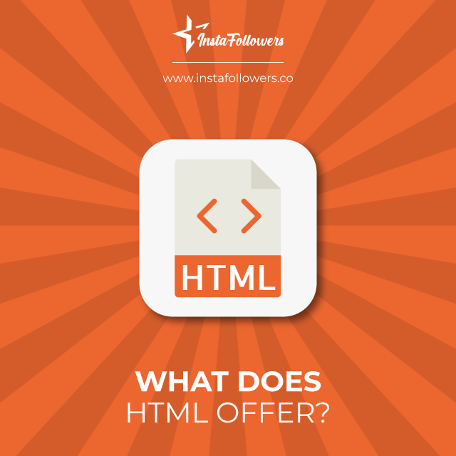what does html offer