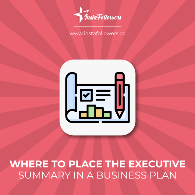 where to place the executive summary in a business plan