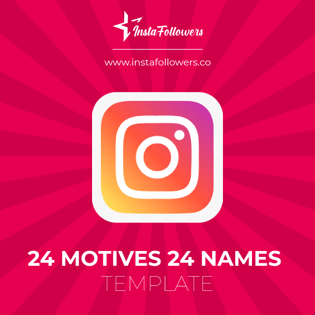24 motives 24 names