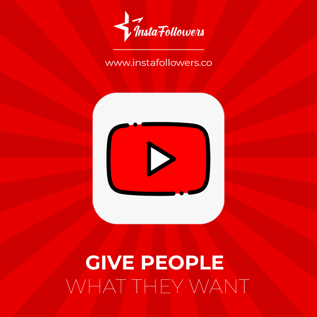 give people what they want