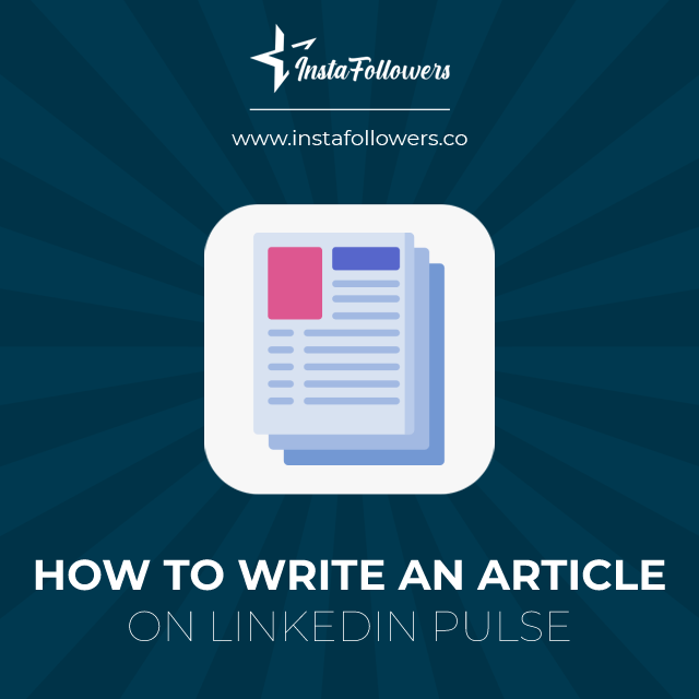 how to write an article on linkedin pulse