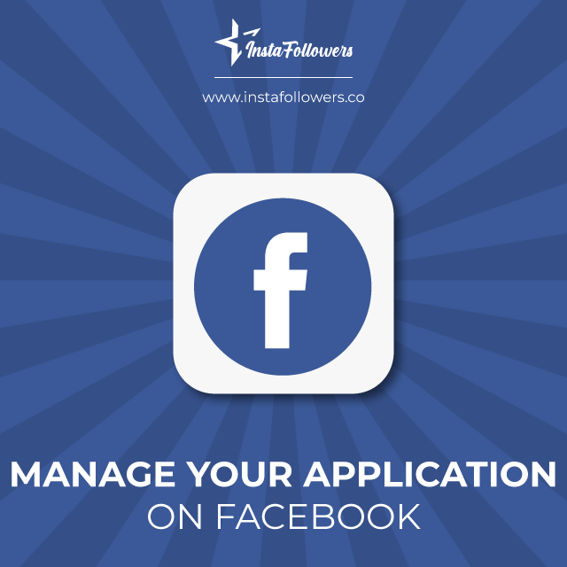 manage your application on facebook