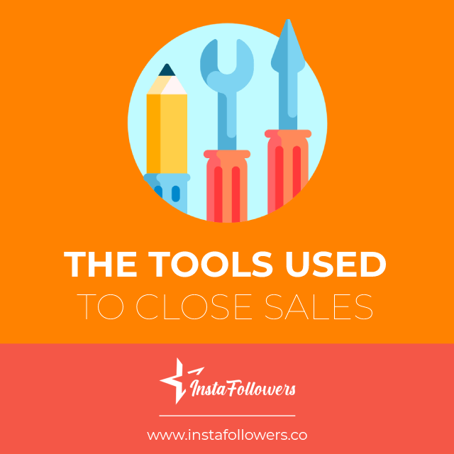 the tools used to close sales