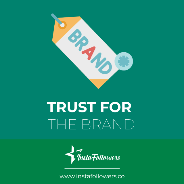trust for the brand