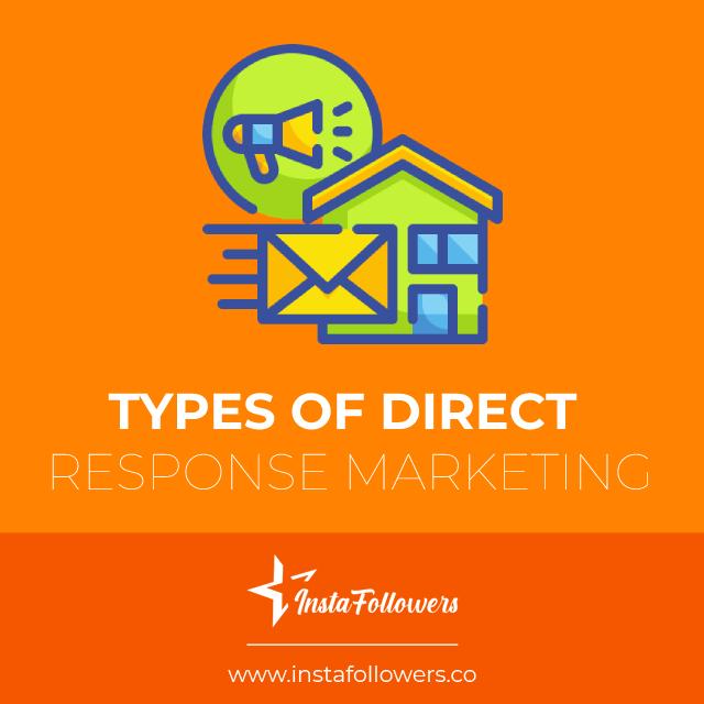 types of direct response marketing