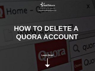 How to Delete a Quora Account