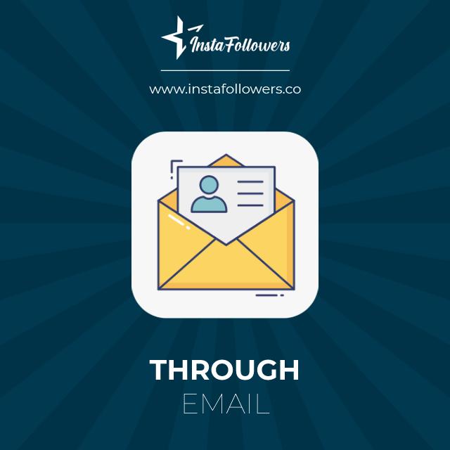through email