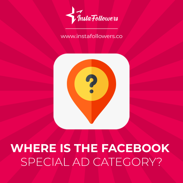where is the facebook special category