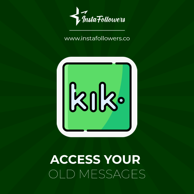 access your old messages
