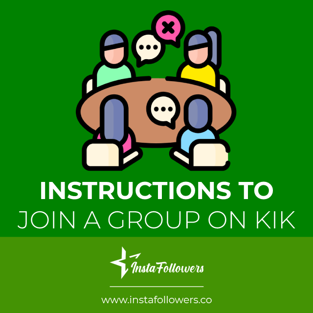 instructions to join a group on kik