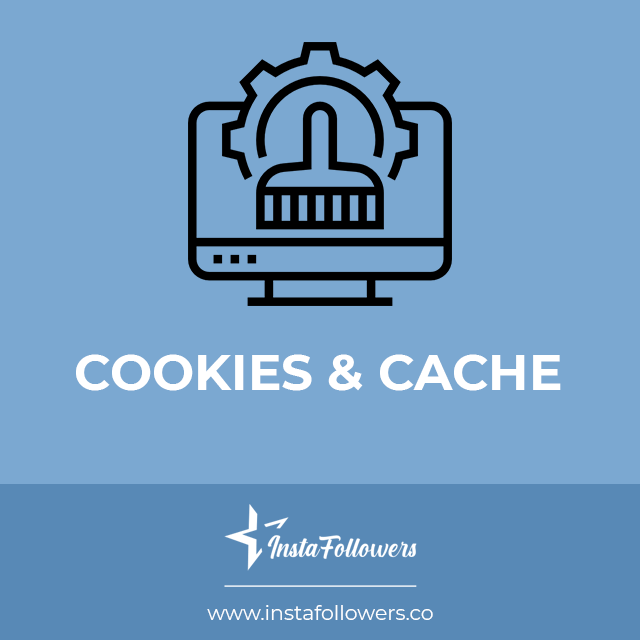 cookies and cache