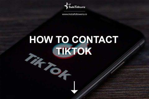 How to Contact TikTok