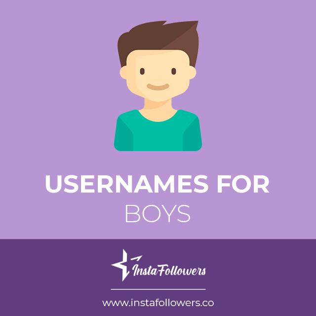 ig usernames for boys