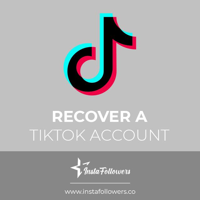 recover a tiktok account