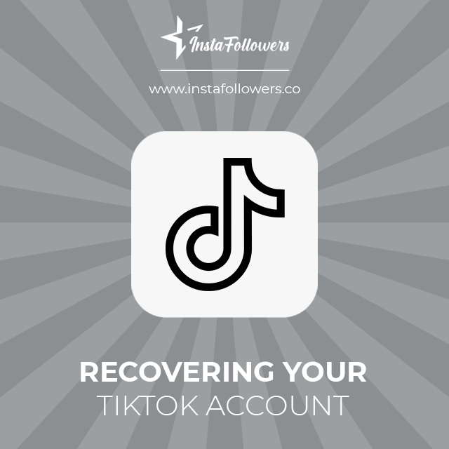 recovering your tiktok account