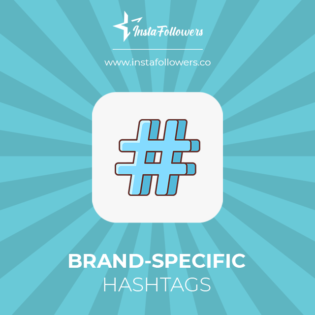 brand specific hashtags
