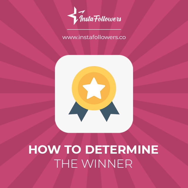 how to determine instagram contest winner
