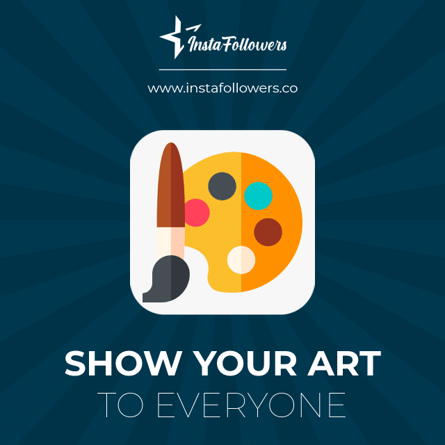 show your art to everyone