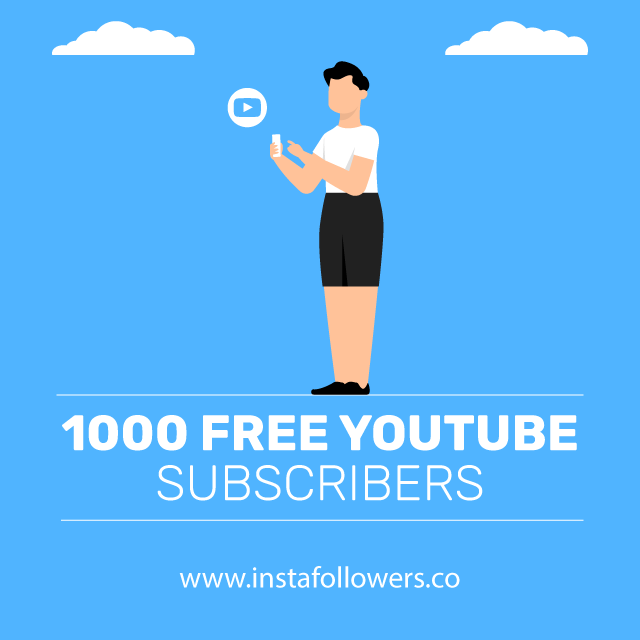 1000 Free YouTube Subscribers